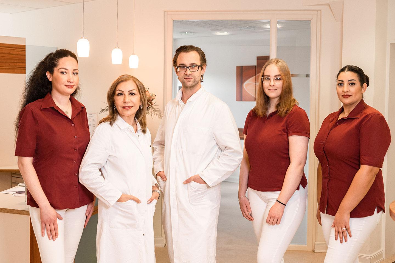 Team - Dr. med. Farzaneh Wienegge und Gent Visser